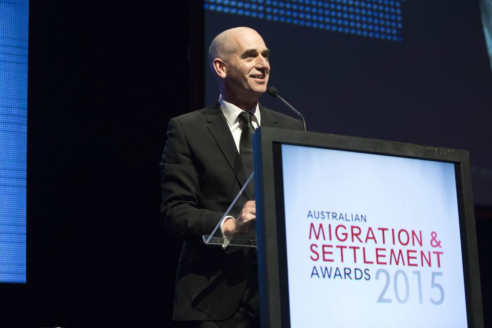The 2015 Australian Migration and Settlement Awards at Parliament House in Canberra.